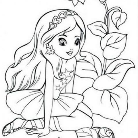 для девочек 5 6 7 лет 2 распечатать картинки раскраски или
