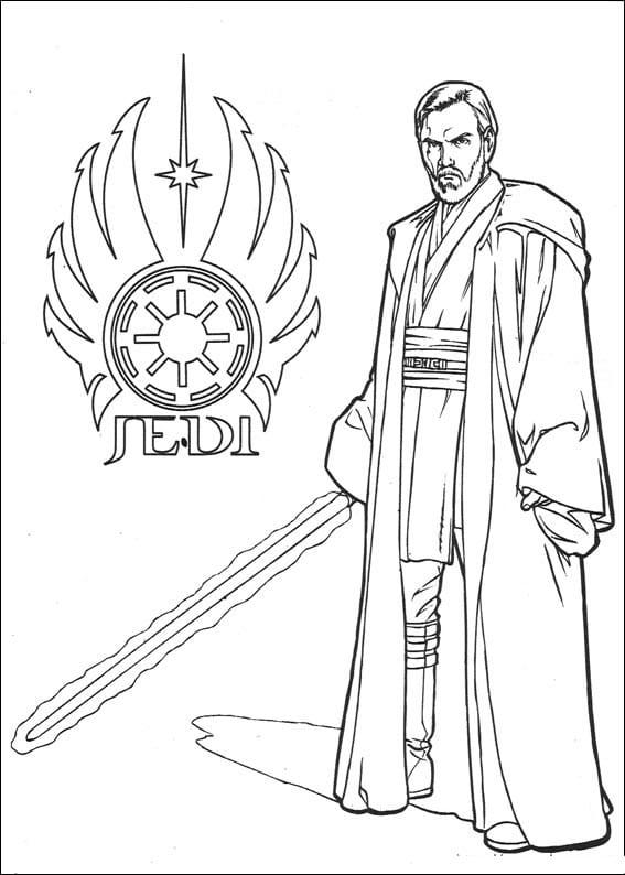 Звездные воины Оби-ван Кеноби 61 распечатать картинку ...