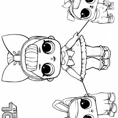 куклы лол 26 распечатать картинки раскраски или скачать